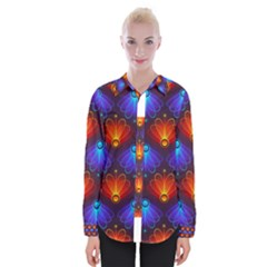 Background Colorful Abstract Womens Long Sleeve Shirt