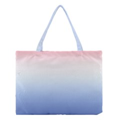 Red And Blue Medium Tote Bag by jumpercat