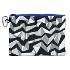 Polynoise Lowpoly Canvas Cosmetic Bag (xl) by jumpercat