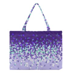 Purple Disintegrate Medium Tote Bag