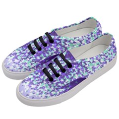 Purple Disintegrate Women s Classic Low Top Sneakers by jumpercat