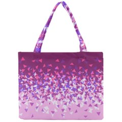 Pink Disintegrate Mini Tote Bag
