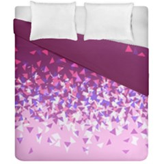 Pink Disintegrate Duvet Cover Double Side (california King Size) by jumpercat