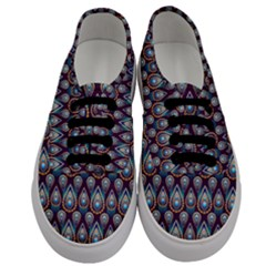 Seamless Pattern Pattern Men s Classic Low Top Sneakers