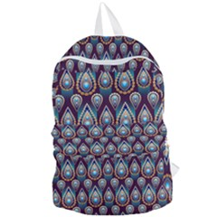 Seamless Pattern Pattern Foldable Lightweight Backpack
