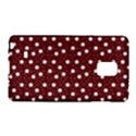 Floral Dots Maroon Galaxy Note Edge View1