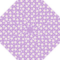 Daisy Dots Lilac Straight Umbrellas by snowwhitegirl