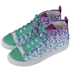 Disintegrate Carnivale Women s Mid Top Canvas Sneakers by jumpercat