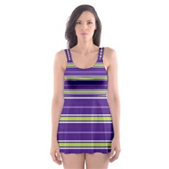 Color Line 1 Skater Dress Swimsuit by jumpercat