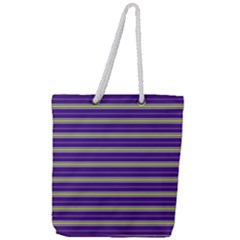 Color Line 1 Full Print Rope Handle Tote (large) by jumpercat