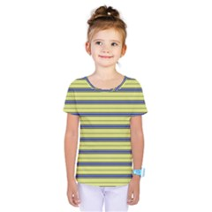 Color Line 3 Kids  One Piece Tee