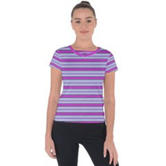 Color Line 4 Short Sleeve Sports Top