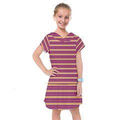 Color Line 5 Kids  Drop Waist Dress