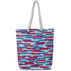 Fast Capsules 1 Full Print Rope Handle Tote (small) by jumpercat