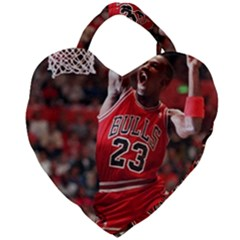 Michael Jordan Giant Heart Shaped Tote by LABAS