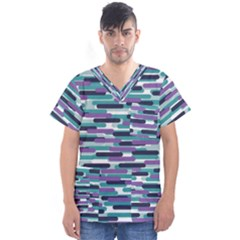 Fast Capsules 3 Men s V Neck Scrub Top
