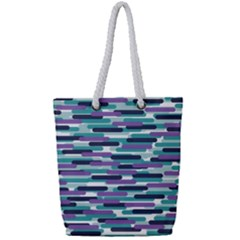 Fast Capsules 3 Full Print Rope Handle Tote (small) by jumpercat