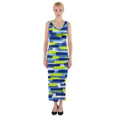 Fast Capsules 5 Fitted Maxi Dress by jumpercat