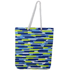 Fast Capsules 5 Full Print Rope Handle Tote (large) by jumpercat