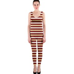 Gold And Wine Onepiece Catsuit by jumpercat