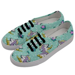 Magical Happy Unicorn And Stars Men s Classic Low Top Sneakers by allthingseveryday