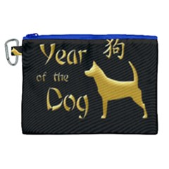 Year Of The Dog   Chinese New Year Canvas Cosmetic Bag (xl) by Valentinaart