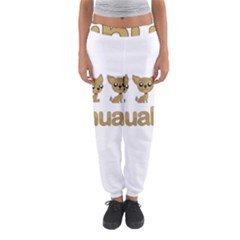 Chihuahua Women s Jogger Sweatpants