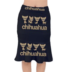 Chihuahua Mermaid Skirt by Valentinaart