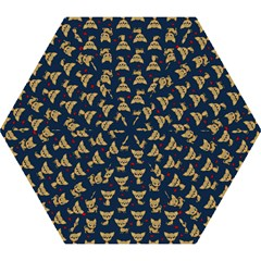 Chihuahua Pattern Mini Folding Umbrellas by Valentinaart