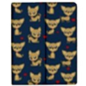 Chihuahua pattern Apple iPad 3/4 Flip Case View1