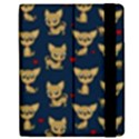 Chihuahua pattern Apple iPad 3/4 Flip Case View2