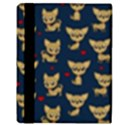 Chihuahua pattern Apple iPad 3/4 Flip Case View3