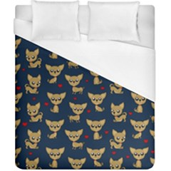 Chihuahua Pattern Duvet Cover (california King Size)