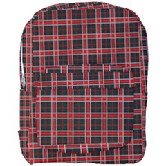 Coke Tartan Full Print Backpack