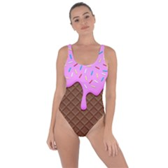 Chocolate And Strawberry Icecream Bring Sexy Back Swimsuit