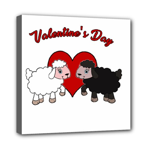 Valentines Day   Sheep  Multi Function Bag	 by Valentinaart