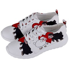 Valentines Day   Sheep  Men s Lightweight Sports Shoes by Valentinaart