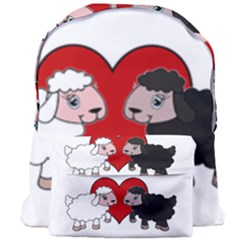 Valentines Day   Sheep  Giant Full Print Backpack by Valentinaart
