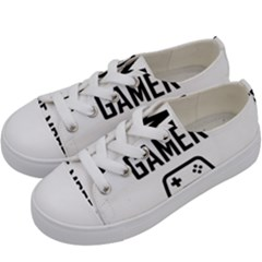Gamer Kids  Low Top Canvas Sneakers by Valentinaart