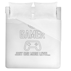 Gamer Duvet Cover (queen Size) by Valentinaart