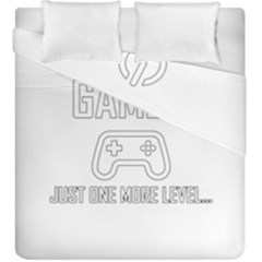 Gamer Duvet Cover Double Side (king Size) by Valentinaart