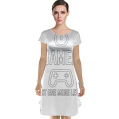 Gamer Cap Sleeve Nightdress by Valentinaart