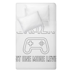 Gamer Duvet Cover Double Side (single Size) by Valentinaart
