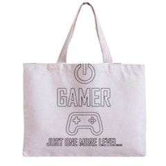 Gamer Zipper Medium Tote Bag by Valentinaart