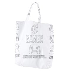 Gamer Giant Grocery Zipper Tote by Valentinaart
