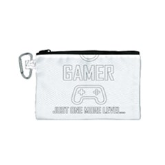 Gamer Canvas Cosmetic Bag (small)