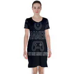 Gamer Short Sleeve Nightdress