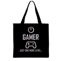Gamer Grocery Tote Bag by Valentinaart