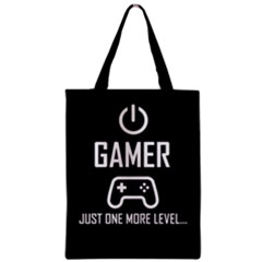 Gamer Zipper Classic Tote Bag by Valentinaart