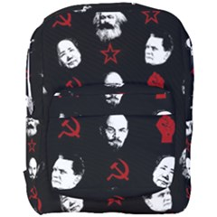 Communist Leaders Full Print Backpack by Valentinaart